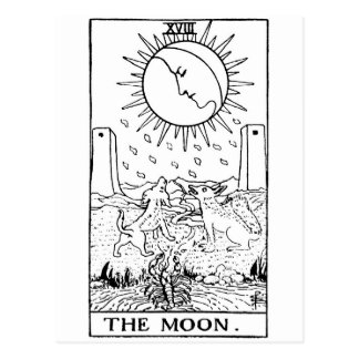 Tarot card 'moon'