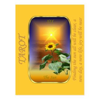 Tarot Card - The Sun Postcard