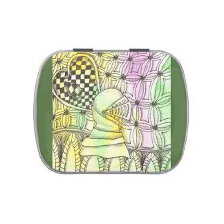Tarot Symbol Armor Jelly Belly Candy Tins