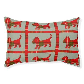 Tartan Doggie Design on Indoor Dog Bed