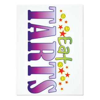 Tarts Eat 14 Cm X 19 Cm Invitation Card