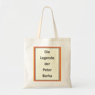 Tasche: The Legende der Peter Borka Tote Bag