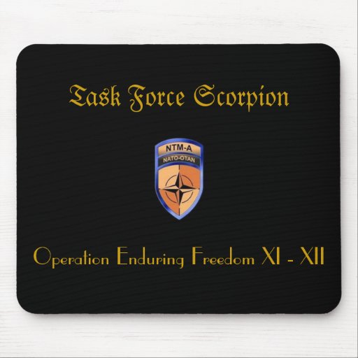 Task Force Scorpion Mouse Pad