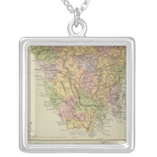 Tasmania, Fiji Silver Plated Necklace