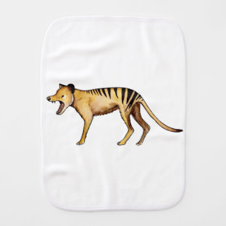 Tasmanian tiger, Thylacine Burp Cloth