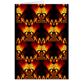 Taste of Art Deco Abstract Design Card