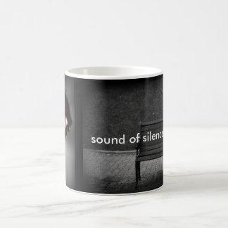 Taste the Silence Basic White Mug