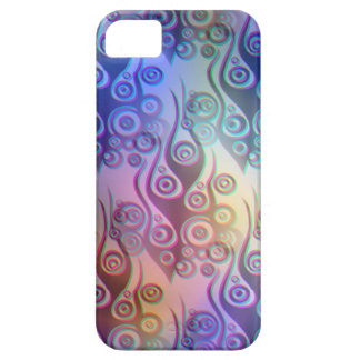 Tattoo flames & circles pattern + your backgr. case for the iPhone 5