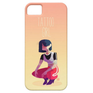 Tattoo girl case for the iPhone 5