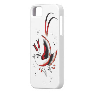 Tattoo Iphone 5 Case: Swallow Case For The iPhone 5