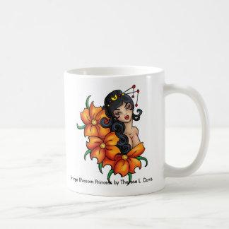 Tattoo Japanese Orange Blossom Princess Coffee Mug