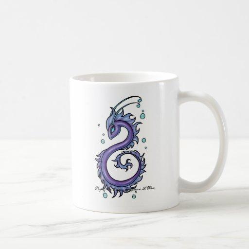 Tattoo Purple Sea Dragon Mug
