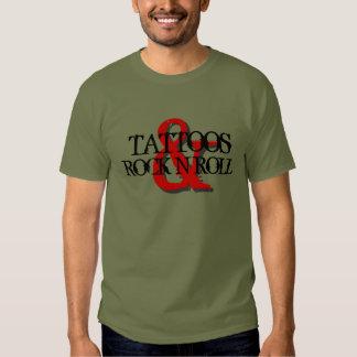 Tattoos & Rock N Roll T-shirt