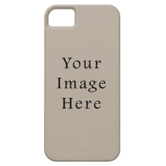 Taupe Neutral Color Trend Blank Template Barely There iPhone 5 Case