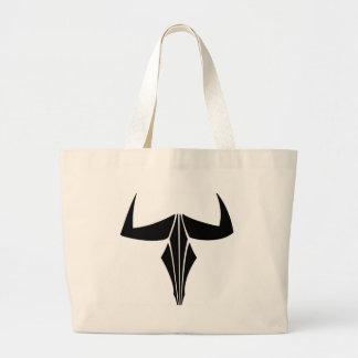 Taurus Bull Large Tote Bag