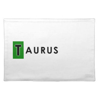 TAURUS COLOR PLACEMAT