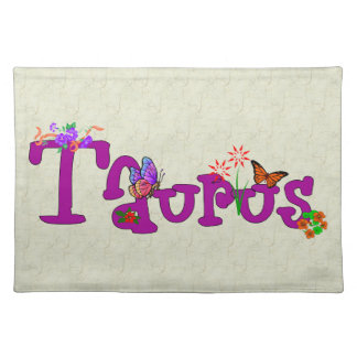 Taurus Flowers Placemat