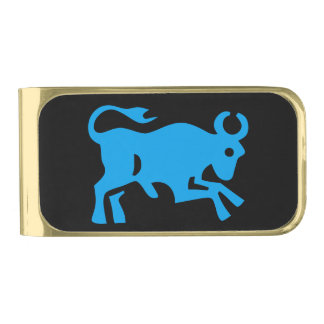 Taurus Gold Finish Money Clip
