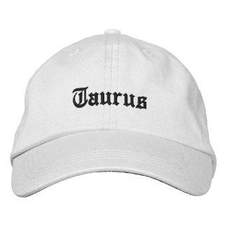 Taurus hat embroidered baseball cap