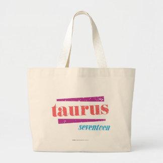 Taurus LtPink Large Tote Bag