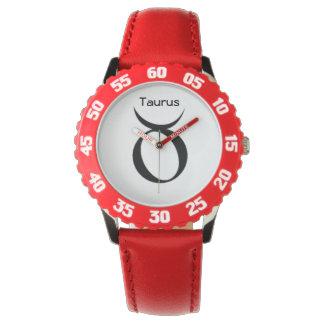 Taurus Sign of the Zodiac Watches. Wrist Watch