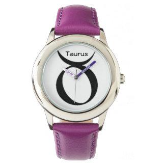 Taurus Sign of the Zodiac Watches. Wristwatch