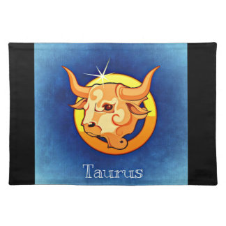 Taurus toro placemat