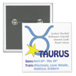 Taurus Traits Square Button