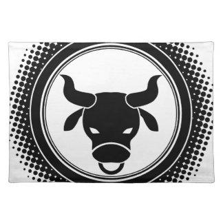 Taurus Zodiac Sign. Placemat