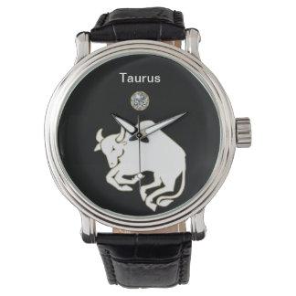 Taurus Zodiac Wrist Watch