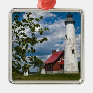Tawas Point Lighthouse Christmas Ornament