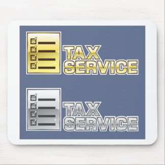 Tax Service Vector Mouse Pad