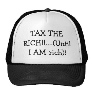 Tax the rich hat