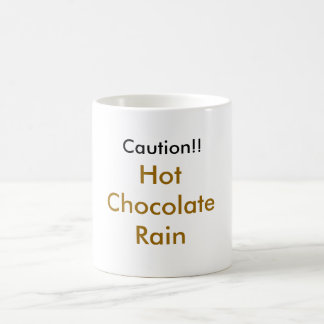 tay zonday Chocolate Rain Basic White Mug