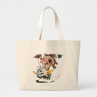 TAZ™ Furious Driving Large Tote Bag