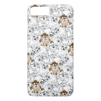 TAZ™ Line Art Color Pop Pattern iPhone 8 Plus/7 Plus Case