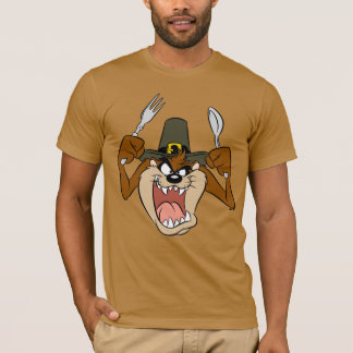 TAZ™ Pilgrim Thanksgiving in Color T-Shirt