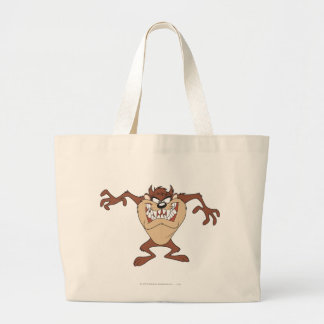 TAZ™ posing 15 Large Tote Bag