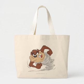 TAZ™ spinning fast Large Tote Bag