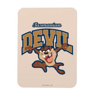 TAZ™ Tasmanian Devil Patch Magnet