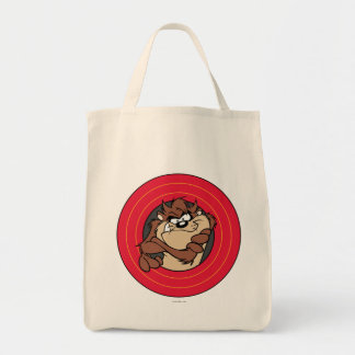TAZ™ Through LOONEY TUNES™ Circles Tote Bag