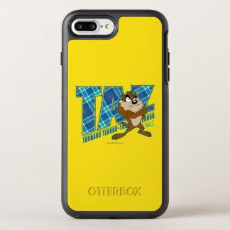 TAZ™ Tornado Terror Plaid OtterBox Symmetry iPhone 8 Plus/7 Plus Case