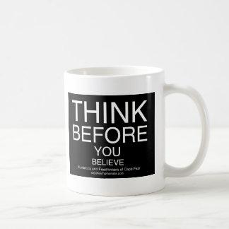 TBYB - Humanists Basic White Mug