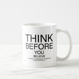 TBYB - White Basic White Mug