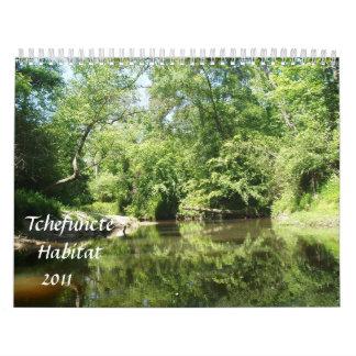 Tchefuncte Habitat Calendar