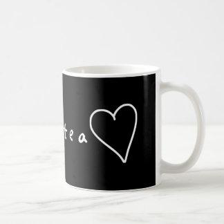 Tea <3 coffee mug