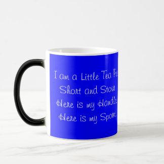 Tea Cup Tea Pot Short, Stout, Morphing Mug