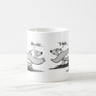 Tea for Two Basic White Mug