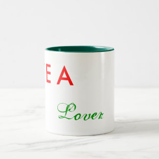 Tea Lover Two-Tone Coffee Mug