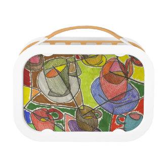 tea lunch box